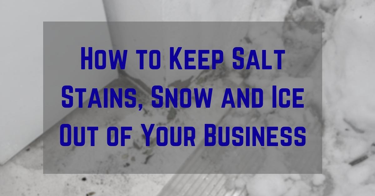 salt stains