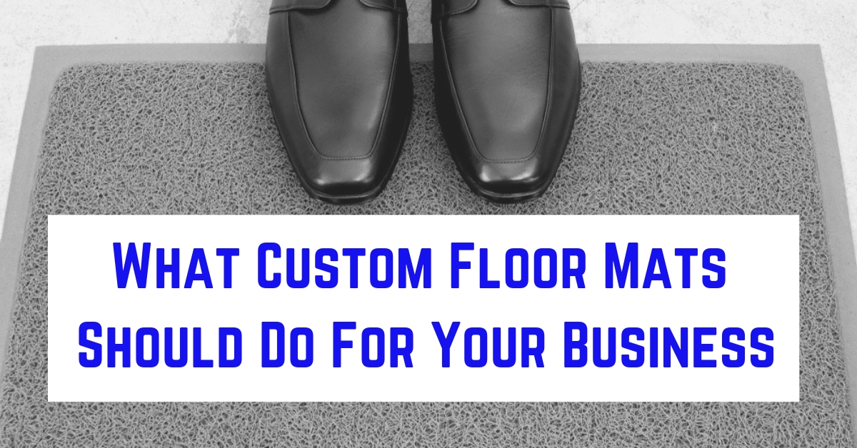 custom floor mats for business featured