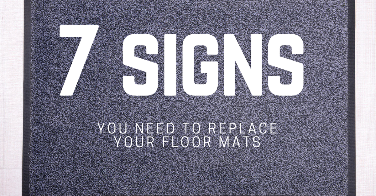 signs you need to replace your floor mats