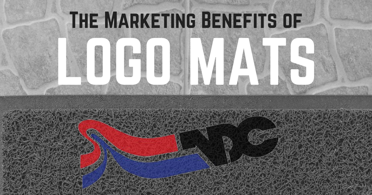 marketing benefits of  custom logo mats