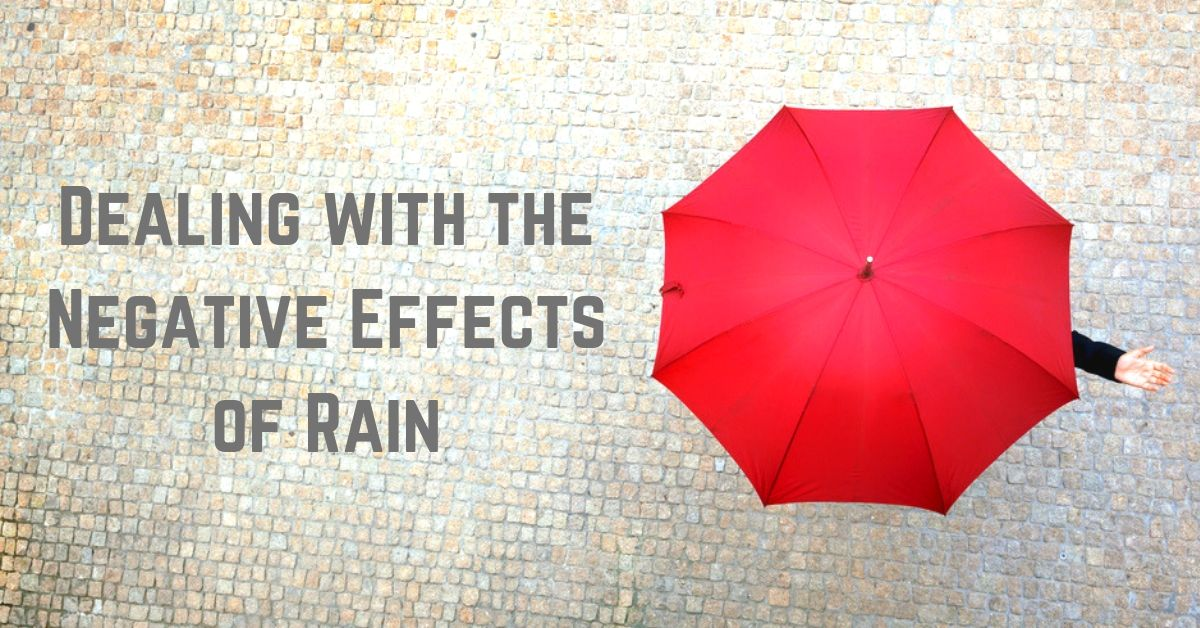 dealing with the negative effects of rain